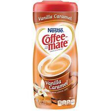 NEW NESTLE COFFEEMATE VANILLA CARAMEL COFFEE CREAMER 15OZ FREE WORLDWIDE SHIP