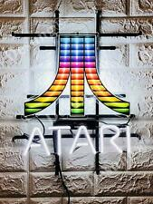 "New Atari Arcade Video Game Room Beer Neon Light Sign 20""x16"" HD Vivid Printing"