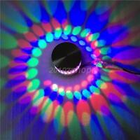 3W RGB LED Wandleuchte Wandlampe Effektlicht Deckenlampe Einbaustrahler