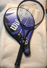 Wilson Oversize Enforcer Tennis Racquet with Case Series 6000 Light Alloy