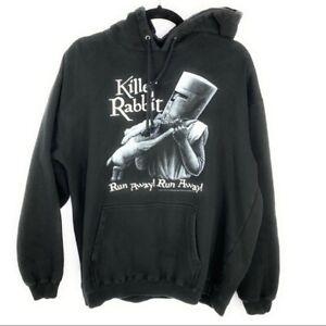 Monty Python Killer Rabbit Hoodie Holy Grail Movie Merchandise 2005 Men's Medium