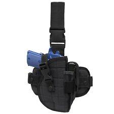 Condor ULH Black Right Drop Down Leg Thigh Rig Pistol Hand Gun Holster Pouch