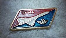 15k Gold Tupolev Tu-144 Ty-144 (the Soviet Concorde) Pin