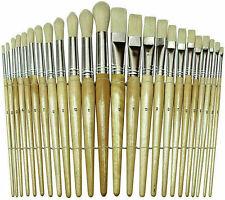 Paint Brush Set 24 Pcs Lot Acrylic Watercolor Oil Artist Painting Brushes Paint