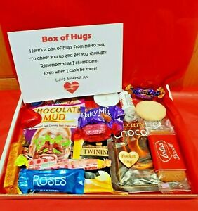 Hug In A Box Gift Mini Hamper - Friend Gift Thinking of you / Get well soon