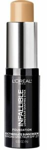 L'Oreal Paris Infallible Longwear Shaping Stick Foundation,