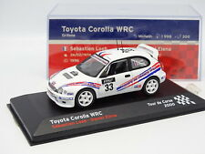 Ixo Presse 1/43 - Toyota Corolla WRC Tour de Corse 2000