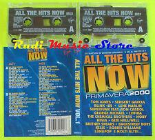 2 MC ALL THE HITS NOW Primavera 2000 TOM JONES BLINK 182 LITFIBA cd lp dvd vhs