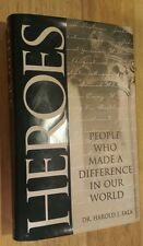 Heroes: People Who Made a Difference in Our World Sala (1998) *** SIGNED ***
