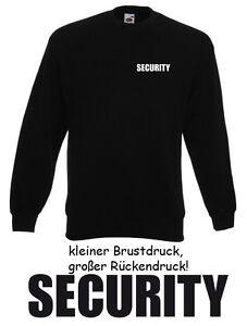 50 Stck. SECURITY SWEATER Pullover - Gr. S bis XXXL