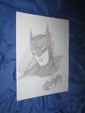BATMAN / THE DARK KNIGHT Original Art Sketch by Steve Rude