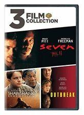 Seven The Shawshank Redemption Outbreak (morgan Freeman) DVD