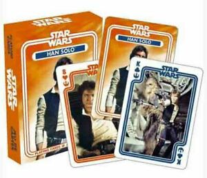 STAR WARS - HAN SOLO Original Series Playing Cards Licensed MILLENNIUM FALCON