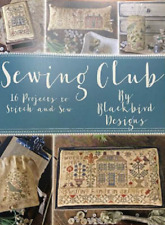 Blackbird Designs Sewing Club Cross Stitch 16 Projects Book