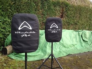 Wharfedale Titan 15 Pro Speaker (passive) Black , Stands, Leads And Covers Inc