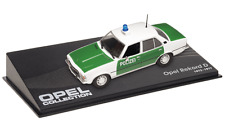 OPEL Rekord D  police VOITURE MINIATURE COLLECTION - IXO 1/43 CAR AUTO-89