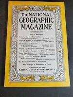 National Geographic Magazine September 1948 Map Of Washington DC