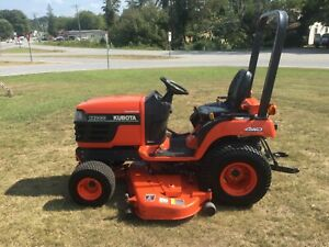Kubota BX2200 4X4 Mower Tractor with Only 1257 Hours