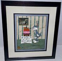 Warner Brothers Cel Bugs Bunny Carrot Cake Chuck Jones Rare Anniversary Cell