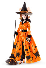 Halloween Haunt Barbie doll Holiday Hostess collection NRFB in shipper