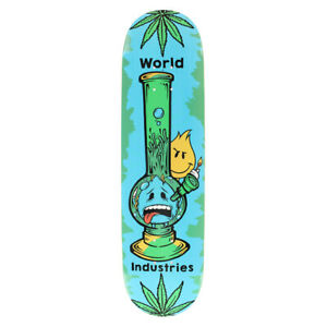 """World Industries Skateboard Deck Bong 8.25"""""""