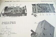 Service Manual-Anleitung für Schaub-Lorenz Goldy 59, 03010