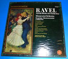 Hear QUAD STEREO 4LPs VOX QSVBX-5133 MUSIC OF RAVEL MINNESOTA ORCHESTRA TAS LIST