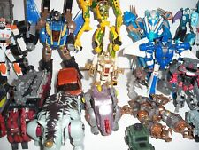 Mixed lot of 35 Transformers Figures