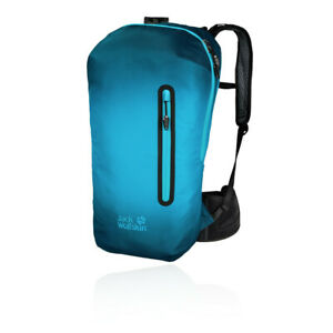 Jack Wolfskin Unisex Halo 22L Backpack Blue Sports Outdoors Breathable Pockets