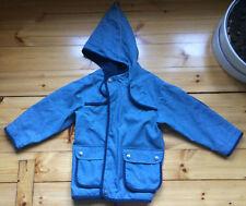 Finkid Regenjacke Duffeli Gr. 110/120 blau