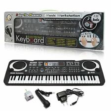 NEW 61 Keys Digital Music Electronic Keyboard Electric Piano Organ Amateur UK