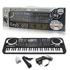 Nuevo música digital de 61 Teclas Teclado Electrónico Piano Eléctrico órgano amateur UK