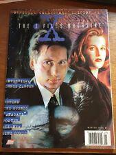 The X-Files Magazine #1 Winter 1996 David Duchovny Gillian Anderson
