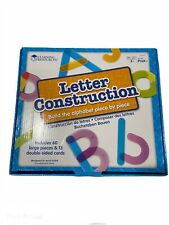 Learning Resources Letter Construction Build The Alphabet Piece By Piece New