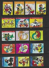 HICK GIRL- USED BENIN STAMPS    DISNEY  VARIOUS ISSUES      T201