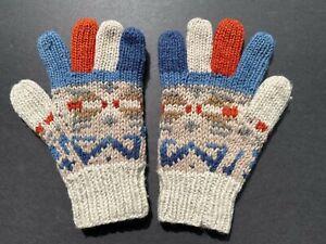 Men's 100% Wool Knitted Gloves by Erin Knitwear Made in Ireland