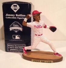 JIMMY ROLLINS PHILADELPHIA PHILLIES 2005 FIGURINE SGA Retail Variant