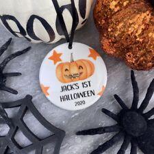Personalised 1st Halloween - Hanging Decoration