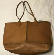 Frye 'Lucy' Pebbled Full Grain Italian Leather Tote Beige $398 style34DB813-BEI