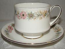 Vintage Paragon ENGLAND Paragon Footed Tea Coffee Cup & Saucer c 1988 - 1990