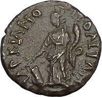 SEPTIMIUS SEVERUS Marcianopolis Moesia Ancient Roman Coin Fortuna Tyche  i47929