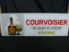 INSEGNA COURVOISIER THE BRANDY OF NAPOLEON COGNAC VINTAGE NEON SIGN