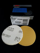 3M Hookit Coated Abrasive Discs P320 76mm Pack of 50