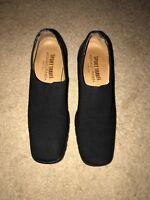 Women's Donald J Pliner Alas Sport Travel Heels Loafers Shoes Size 6M Black
