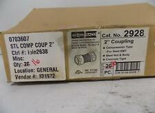 """HUBBELL 2"""" COUPLING 2928 16 IN BOX"""