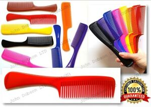 """Hair Handle Comb 7.5"""" Shower Comb Gym Bag Wet Hair Combs Wide Tooth Comb x 1"""