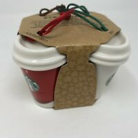 Starbucks Holiday Christmas Ornament 2011 Coffee Tumblers Pack Of 4 Home