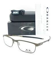 NEW Oakley Steel Plate RX Eyeglasses Frame Powder Pewter OX3222-0452 AUTHENTIC