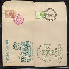 China, Republic   2 boy scout cachet  covers       KL0229