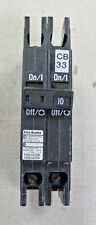 Allen-Bradley 2 Pole 10 Amp 120/240 Volt Circuit Breaker Catalog # 1492-MCAA210